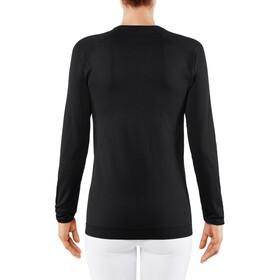 Falke Artic Brush Camiseta Manga Larga Mujer, negro